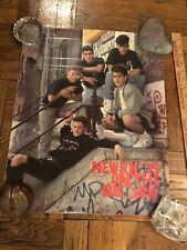 New Kids On The Block Poster 1989 Nkotb Steps