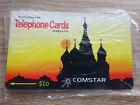 Alte Telefonkarte Russland / Comstar im Blister / VOLL-ungebraucht (mint)