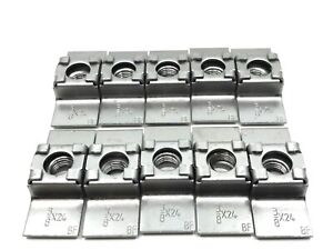 10 pcs 3/8-24 weld in cage nuts 40-70 fits Dodge DeSoto Plymouth