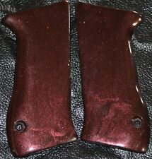 Jericho 941 pistol grips smooth black russet plastic