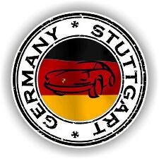 Germany Stuttgart  Stamp Seal Sticker Decal for Laptop Tablet Fridge Door #01
