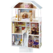 Kidkraft 65023 Puppenhaus Savannah mit Zubehör - Puppenstube Holz