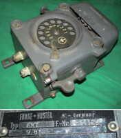Wählscheiben Bundeswehr Telefon Funke Huster Telephone EX-PROOF explo. geschützt