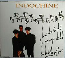 """INDOCHINE - TRÈS RARE MAXI CD """"LA CHEVAUCHÉE DES CHAMPS DE BLÉ"""""""