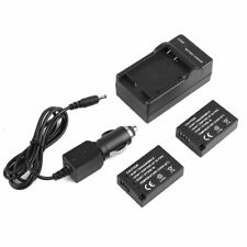 2x LP-E17 Replacement Li-Ion Battery + USB Charger For Canon EOS M5 T6i 8000D LK