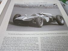 Formel 1 Archiv 2 Autos Motoren 2020 Cooper Climaxc Jack Brabham 1960