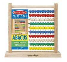 L@@K Melissa and Doug Counting Abacus 493 Numbers Education Ships Global NEW