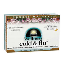 Source Naturals - Cold & Flu - 48 Homeopathic tabs