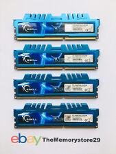 32 GB (4 x 8GB) G.Skill Ripjaws X DDR3 PC Memory RAM Modules PC3-12800 1600Mhz