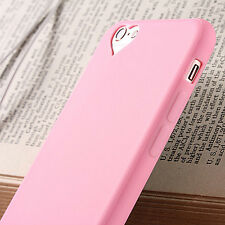 Cute Slim Silicone Rubber Soft Gel Back Case Cover For Apple iPhone 6S 7 8 Plus