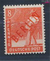 Berlin (West) 23 geprüft postfrisch 1949 Rotaufdruck (8717012