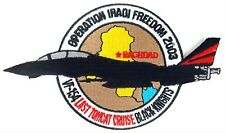USN VFA-154 BLACK KNIGHTS KNIGHTS OPERATION IRAQI FREEDOM 2003 PATCH