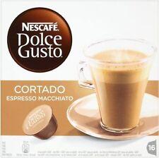 Nescafe Dolce Gusto Cortado Espresso Macchiato (4x16 Pods)