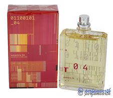 Escentric 04 by Escentric Molecules UNISEX 3.4/3.5 oz 100ml Eau De Parfum Spray