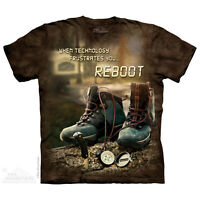 Reboot Outdoor T-Shirt by The Mountain. Life Outdoor Sizes S-5XL NEW