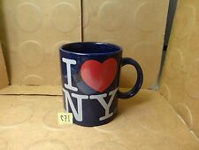 I Love New York Coffee Mug, Jay Joshua, Nysouvenir (Used/Euc)