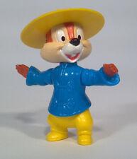 """KE Vintage Epcot Center Disney Chip & Dale Rescue Rangers 3"""" Chip Figure China"""