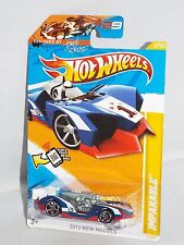 "Hot Wheels 2012 New Models #3 Jorge Lorenzo Design ""Imparable"" Mtflk Blue"