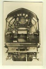 ry457 - Cab of LNER High Pressure Compound Express Locomotive no10000 - postcard
