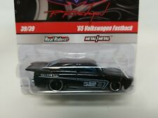 Hot Wheels Phil's Garage #39 Black '65 Volkswagen Fastback CHASE w/Real Riders