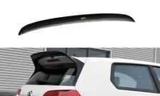 SPOILER WING EXTENSION (GLOSS BLACK) VW GOLF MK7 GTI CLUBSPORT 2013-2016
