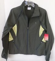 Danskin Women's green zip up lightweight jacket-Size large(12-14)-New with tags