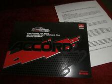 Honda Accord.Auto Trader RAC touring car.1996 team MSD. Drivers,Circuits.DECALS