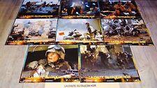 LA CHUTE DU FAUCON NOIR ! Ridley Scott  jeu 8 photos cinema lobby card