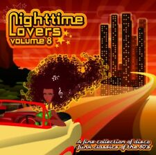 Nighttime Lovers Volume 8  New cd   80's  disco/funk classics  12 inches