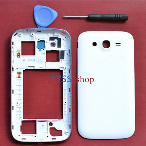 Housing Cover Case Faceplate Fascias for Galaxy Grand Duos i9082 + Side Buttons