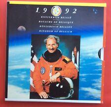 Belgique - Serie FDC 1992  FR + VL - Dirk Frimout - Astronaute