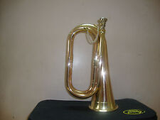 BEST-PRICE-DEAL NEW Bb BUGLE, CALAVARY SCOUT BUGLE, SEA CADET +US BRITISH ARMY