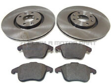PEUGEOT 5008 2.0 HDI FRONT 2 BRAKE DISCS AND PADS SET NEW (302MM SIZE ONLY)