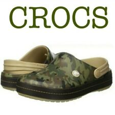 Crocs Mens Crocband Camo II Clog Slip On Comfort Shoes Size 13 New with Tags