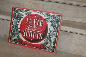 La vie fière et joyeuse des scouts, album chocolat Suchard
