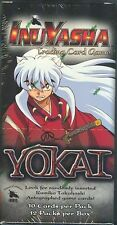 INUYASHA YOKAI 1ST EDITION BOOSTER BOX  X1  FACTORY SEALED STORED IN BOXES NICE!