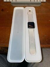Apple Watch Sport 38mm Gold Aluminum Case Antique White Sport Band - (MLCJ2LL/A)