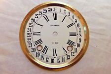 """6 5/8"""" Dia  Metal Calendar Dial for 31 Day Clock in White Color"""