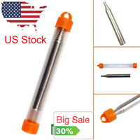 US Outdoor Pocket Bellow Collapsible Fire Tool Camping Survival Blow Fire Tube