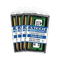 32GB Kit 4X 8GB SODIMM Apple iMac Late 2015 A1419 MK462LL/A MK482LL/A Memory Ram