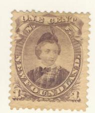 Newfoundland Stamp Scott # 32 1-Cent Prince Edward MNG