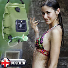 20L Portable Outdoor Travel Shower Heating Pipe Bag Solar Powered Water Heater