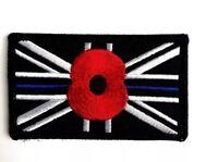Blue Line Poppy Velcr0 Patch Special Police Patch