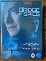 Bridge of Spies DVD 2015 Cold War Movie Drama w/ Tom Hanks + Mark Rylance