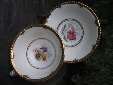 Vtg Paragon Fine Bone China Cup & Saucer Floral Heavily Gilded Rim  A/F