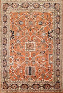 Geometric Classic Ziegler Oriental Area Rug Hand-knotted Wool Dining Room 9'x12'