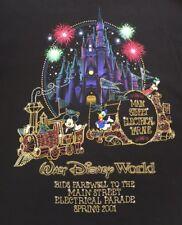 Walt Disney World 2001 Farewell To Main St Electrical Parade T-Shirt Mens Medium