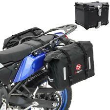 Set Motorrad Satteltaschen WP8 + Topcase XB45 45L Bagtecs sw