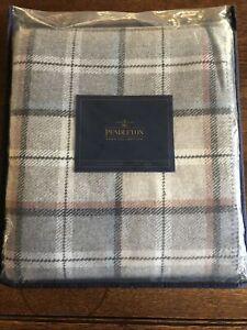 Pendleton Pearl Plaid Twin Washable Wool Blanket