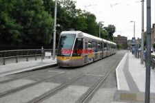 PHOTO  2009 DUBLIN LUAS TRAM AT ST. STEPHEN'S GREEN THIS IS THE CITY TERMINUS OF